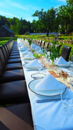 The Hermitage Inn: Outside Banquet