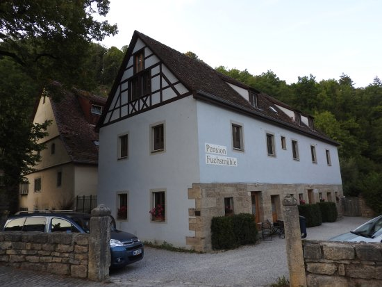 Pension Fuchsmühle: Exterior of building