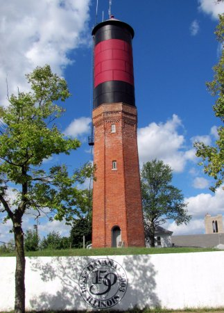 Red Lion Motor Lodge : Historic water tower downtown Havana