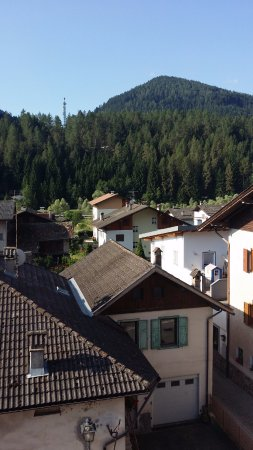 Molina di Fiemme, Italie : vista dalla camera