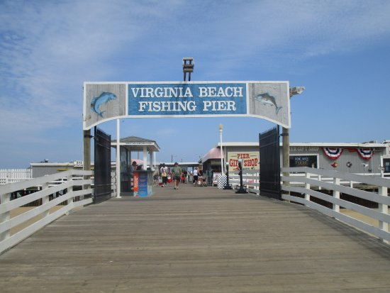 Virginia beach fishing pier picture of virginia beach for Va beach fishing pier