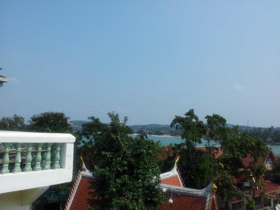 Bophut, Thailand: Вид .