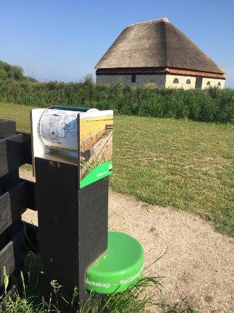 Тексель, Нидерланды: Landschapspad en schapenboet