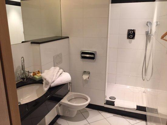 Marivaux Hotel: 浴室頗為乾淨,但不豪華