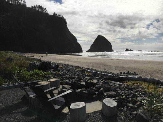Arch Cape, OR: Fire Pit