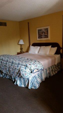 ذا سبرينجز هوتل آند سبا: inside room - King bed