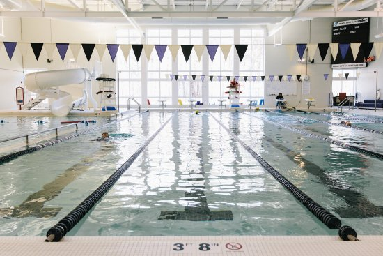 Oak Bluffs, MA: 25 yard, 6 lane Indoor Competitive Pool with Rec Pool and Waterslide