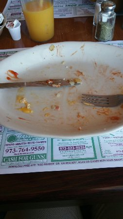 Vernon, Νιού Τζέρσεϊ: Food was so good that I couldn't take a picture of a full plate. This is what it looked like aft