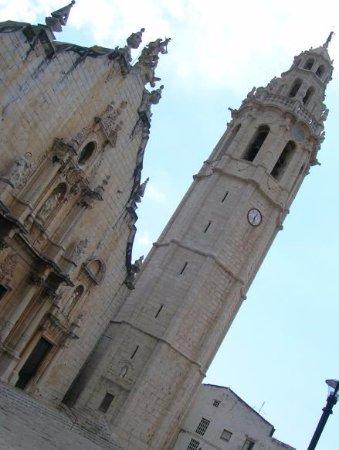 Alcala de Xivert, Испания: La obra, toda ella realizada en cantería, es de planta octogonal en toda su alzada.