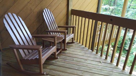 Cashiers, Carolina del Nord: Master Balcony I
