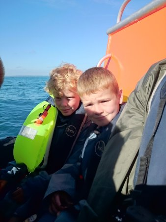 Sussex Voyages: Inflated life jacket = deflated wallet.