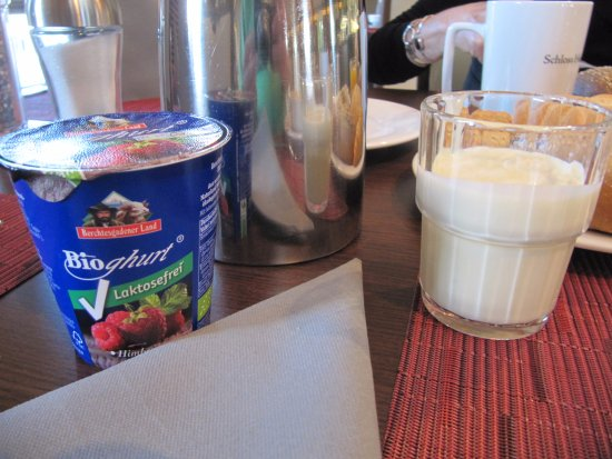 Schloss Hohenkammer ontbijt
