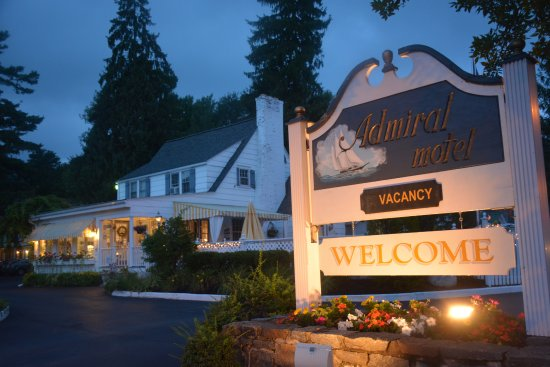 Admiral Motel, Lake George. And you will be made welcome!
