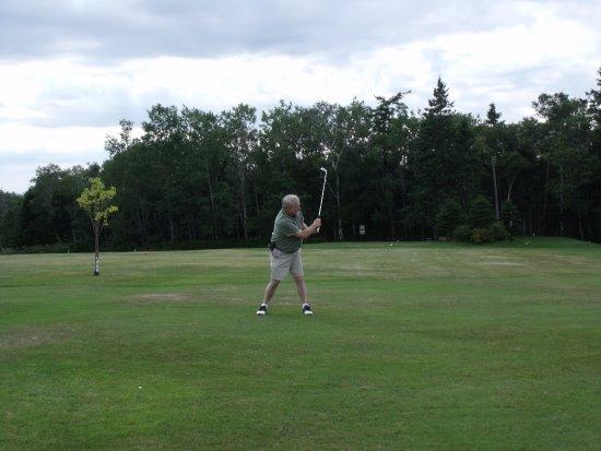 Parrsboro Golf Course: Not the best form!