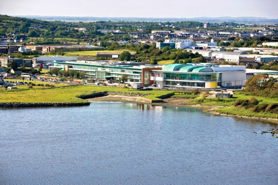 the g Hotel & Spa Galway: Aerial view of the g Hotel & Spa