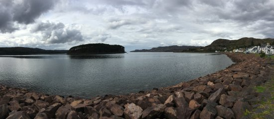 Shieldaig and Loch Torridon from Nanny's