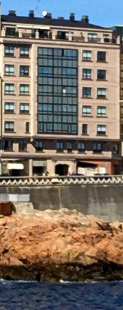 nossa vista picture of cristal 2 hotel la coruna tripadvisor rh tripadvisor com