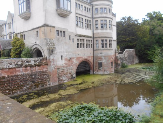 The Abbey Is A Moated Building