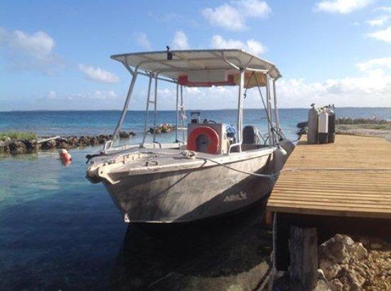 Manihi, Polynésie française : Notre bateau