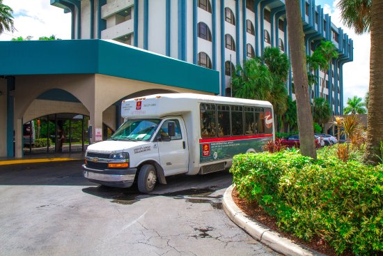 airport shuttle 1 picture of clarion inn suites miami airport