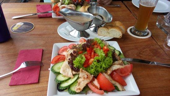 Rugia, Niemcy: Salat