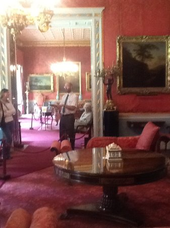 Knutsford, UK: Guided tour of mansion