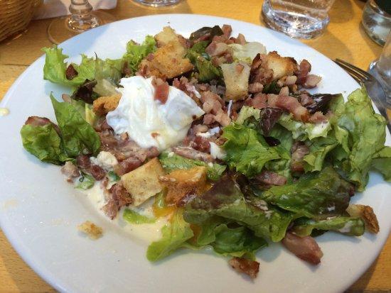 Salade Lyonaisse California Style Recipe — Dishmaps