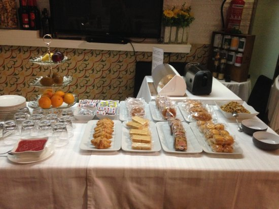 Hotel Alkazar : Breakfast