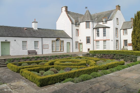 Haddington, UK: Sunken garden