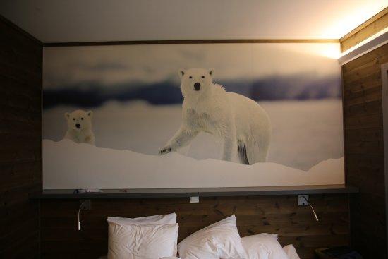 Svalbard Hotel: Foto pannello camera