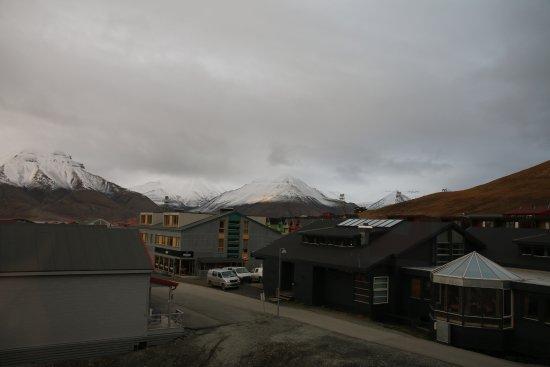 Svalbard Hotel: Vista dalla camera