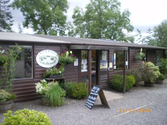 Taynuilt, UK: the Inverawe smokehouse shop and restaurant