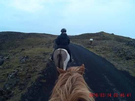 Grindavik, Ισλανδία: Our ride to the light house