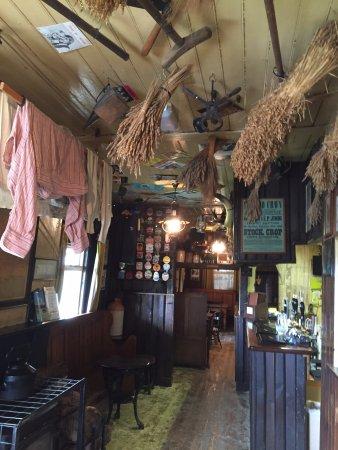 Rosebush, UK: inside the pub
