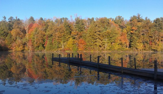 Highland Lake Inn & Resort Hendersonville: Fall Color