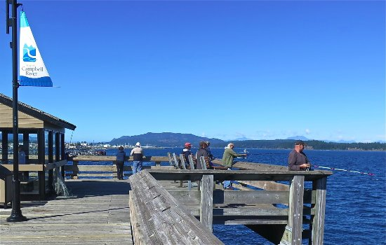 Campbell River, Canadá: Fisherpersons