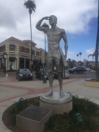 The Ben Carlson Memorial Statue