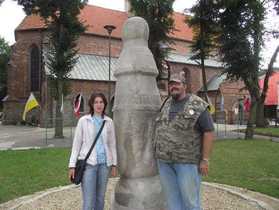 Road Post in Konin