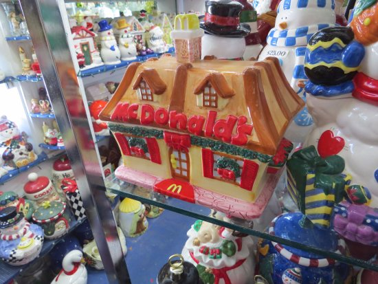 Metamora, IN: McDonald's Cookie Jar