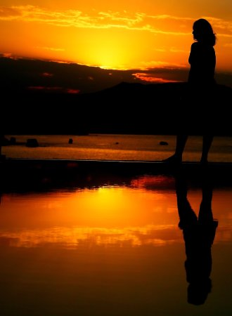 SK Place Crete Luxury Seafront Villas: Fantastic sunsets