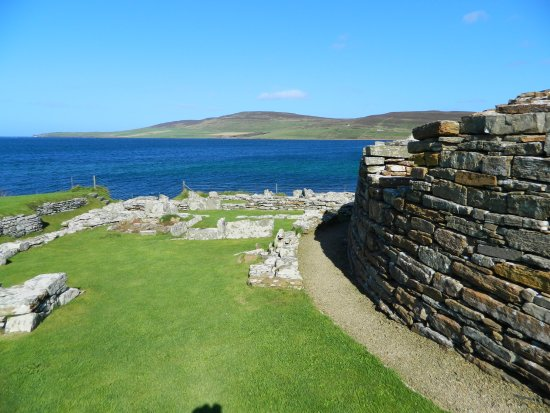 Evie, UK: The Broch
