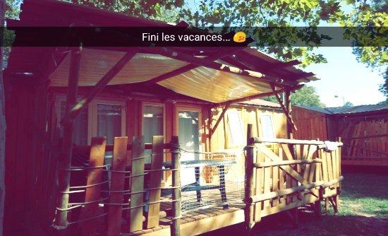 Camping Lou Puntaou: Notre Mobil-home très bien équipé !