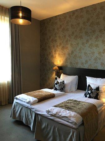 Saga Hotel Oslo: Double bed room