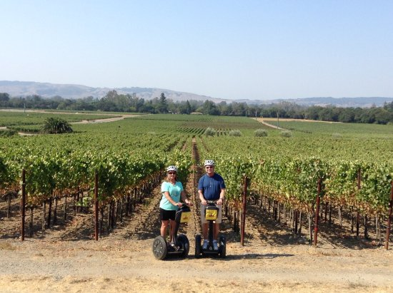Sonoma Segway: Hunt is a great photographer!