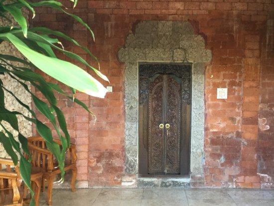 Ida Hotel: Our front door