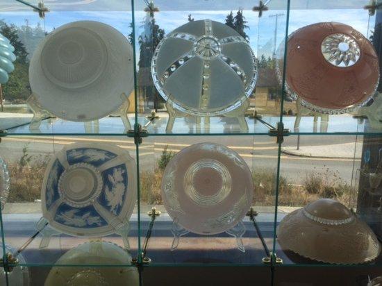 Kelly Art Deco Light Museum: Glass Light Shades