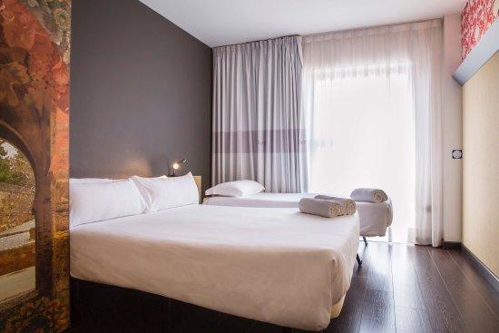 B&B Hotel Granada: Habitación familia