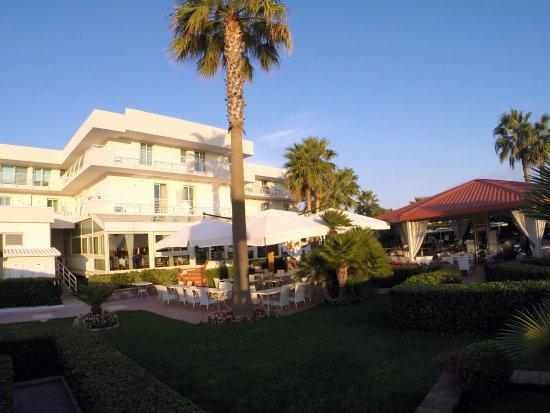 Hotel Olimpico: facciata hotel