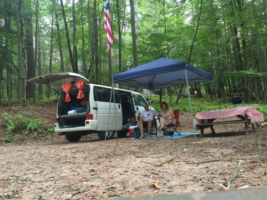 Nice clean campground. Only minutes away from Bethel Woods.