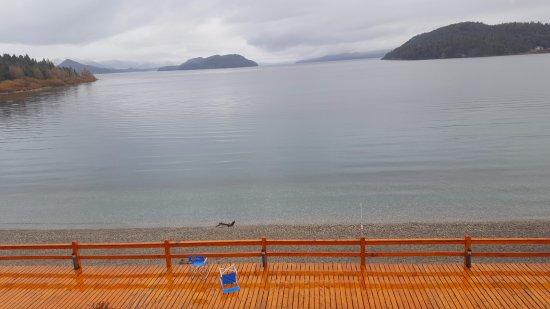 Apart del Lago: Vista desde la habitacion